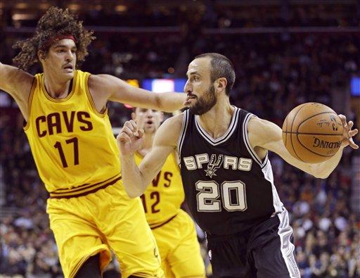 Spurs frenan otra vez a LeBron