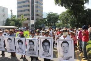 El caso de los desaparecidos de Ayotzinapa sigue presente en la memoria colectiva de un sector de la población mexicana. Foto: Archivo