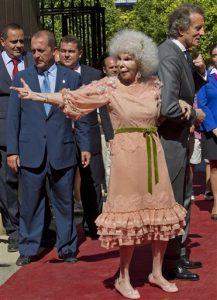 En 2011, Cayetana contrajo matrimonio con su tercer marido, Alfonso Díez, en Sevilla. Foto: AP