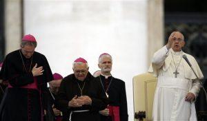 """El papa Francisco indicó que en Iguala ocurrió un """"asesinato"""". Foto: AP"""