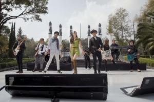 Realizaron un singular showcase en Chapultepec para presentar su disco. Foto: Cortesía Sony Music