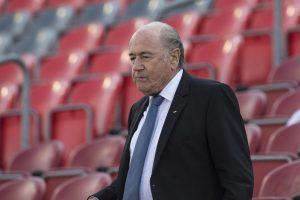 Sepp Blatter, presidente de la FIFA. Foto: AP
