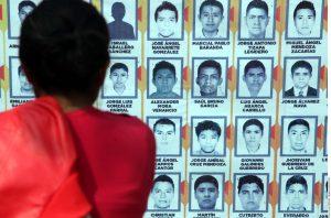 La desaparición de los 43 normalistas de Ayotzinapa ha despertado una voz de reclamo internacional. Foto: Agencia Reforma