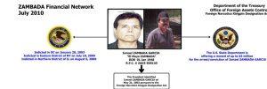 Ismael es el tercer hijo de Zambada detenido en los últimos años.