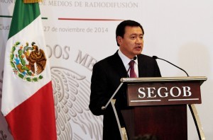 Miguel Angel Osorio Chong,  secretario de Gobernación. Foto: Notimex