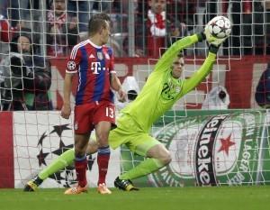 Manuel Neuer, cada vez más afianzado como el mejor arquero del mundo. Foto: AP