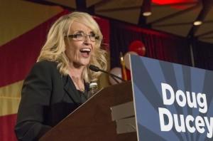 Jan Brewer, gobernadora de Arizona. Foto: AP