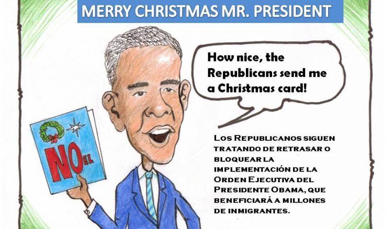 Feliz Navidad, señor Presidente