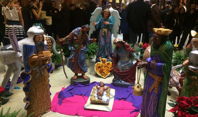 Colores de México iluminan la Navidad del Vaticano
