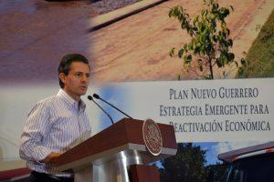 Enrique Peña Nieto enfrenta la peor crisis política en lo que va de su gobierno. Foto: Notimex