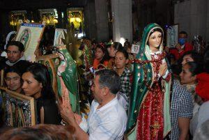 La Virgen de Guadalupe forma parte de la identidad del pueblo de México. Foto: Notimex