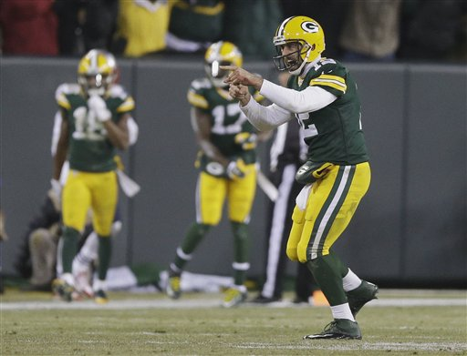 Packers ganan duelo de candidatos al Super Bowl