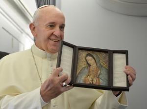 Saluda el Papa Francisco a la Virgen de Guadalupe desde Twitter
