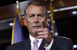 El republicano John Boehner, líder de la Cámara de Representantes, busca aprobar un proyecto de gastos que financiaría la mayoría de las agencias del gobierno durante un año. Foto: AP