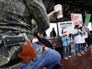 El apoyo a la posesión de armas entre los anglosajones ha pasado en dos años del 54 al 62 por ciento. Foto: AP