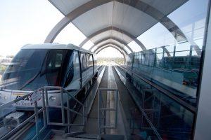 El tren PHX Sky brindará comodidad a los usuarios del aeropuerto Sky Harbor. Foto: Cortesía/City of Phoenix