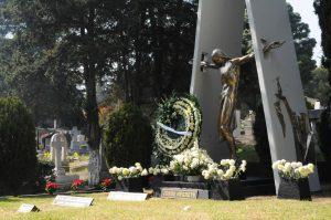 Los restos mortales de Jorge Negrete descansan en el Panteón Jardín de la Ciudad de México. Foto: Mixed Voces