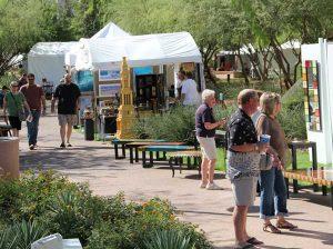 El público se deleitará con obras de arte y delicias al paladar en la zona del Waterfront en Scottsdale.  Foto: www.phoenix.about.com
