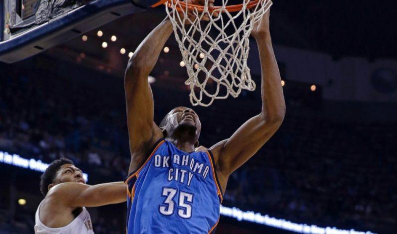 Regreso de Durant no evita caída del Thunder