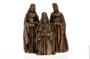 La Biblia no especifica el origen de los Reyes Magos, los cuales se supone que provinieron de Persia o Babilonia. Foto: Agencia Reforma