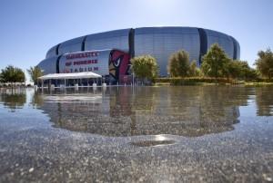 El University of Phoenix Stadium será una de las sedes Foto: AP