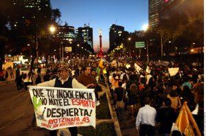 Los desaparecidos de Ayotzinapa, Guerrero, despertaron la conciencia de muchos que ahora levantan la voz en busca de justicia. Foto: Agencia Reforma