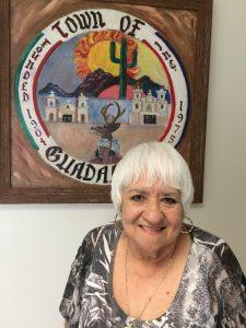 Gloria Cota, miembra del Concejo de Guadalupe, y pionera de la lucha para lograr la incorporación de esa comunidad como municipio autónomo. Foto: Sam Murillo/Mixed Voces.