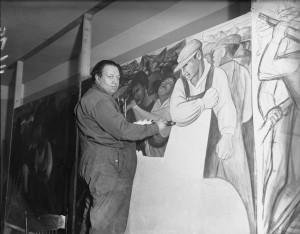 Diego Rivera es considerado uno de los más grandes muralistas mexicanos. Foto: AP