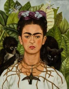 Obras de Frida Kahlo que serán exhibidas a partir de mayo como parte de la muestra sobre la artista mexicana en el Jardín Botánico de Nueva York. Foto: Notimex