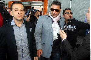 Antonio Mohamed llegó esta mañana a la Ciudad de Monterrey para cerrar su contratación como nuevo director técnico de los Rayados. Foto: Agencia Reforma