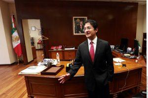 Virgilio Andrade Martínez, titular de la Secretaría de la Función Pública. Foto: Agencia Reforma