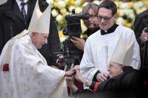 Benedicto XVI reaparecerá en público este sábado 14 de febrero. Foto: Notimex