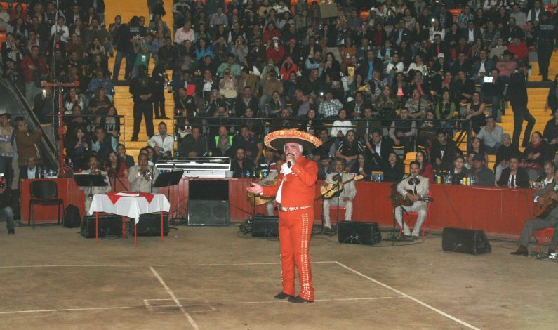 Pleno, Vicente confirma concierto de despedida en el Zócalo