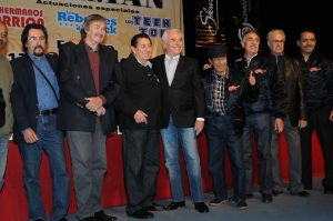 Enrique encabeza el elenco de Amor es Rock and Roll con Los Hermanos carrión, Los Teen Tops y Los Rebeldes del Rock. Foto: Mixed Voces