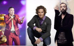 La Original Banda Limón, David Bisbal y Mario Domm serán reconocidos el 11 de marzo. Foto: Mixed Voces