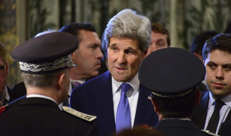 "Admite Kerry ""profundo interés"" de EU en recaptura de ""El Chapo"""