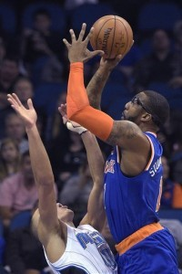 Amar'e Stoudemire, pívot de los Knicks de Nueva York