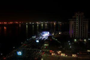 La Trevi reunió a 90 mil personas en la tercera jornada musical del Carnaval de Veracruz 2015. Foto: Cortesía