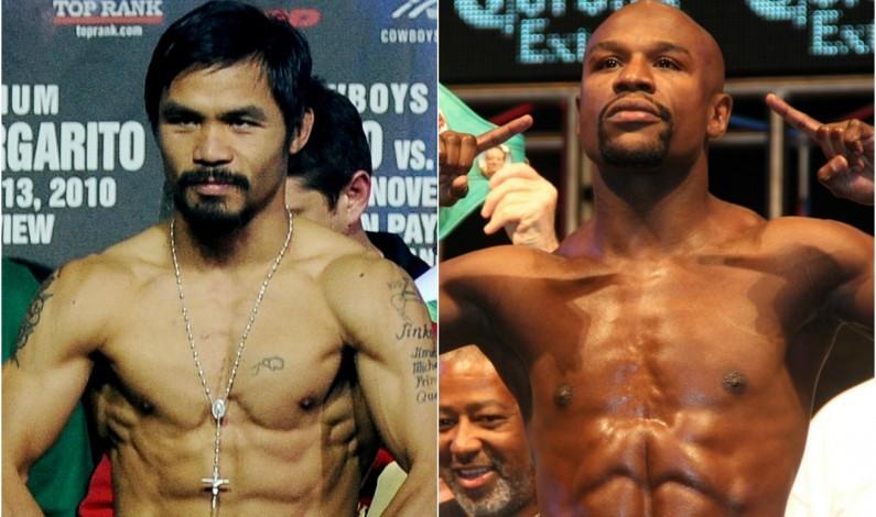 Silencio y posible pista de pelea Mayweather-Pacquiao