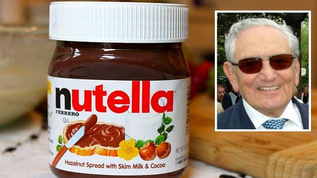 Muere el creador de la Nutella en San Valentín