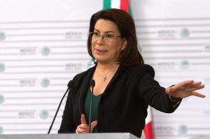 Lorena Martínez, titular de la Procuraduría Federal del Consumidor. Foto: Notimex
