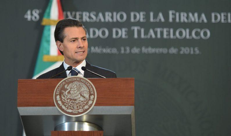Peña Nieto permanece al tanto de asuntos nacionales tras cirugía