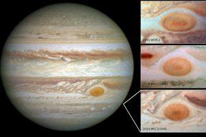 """La NASA precisó que cada 13 meses el planeta Tierra y Júpiter tienen un encuentro cercano denominado """"oposición"""". Foto: AP"""