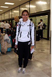 Paola Espinosa retornó de sus actuaciones en Beijing y Dubai, donde cosechó preseas en el trampolín sincronizado con Dolores Hernández y en la plataforma mixta junto a Jahir Ocampo, quienes también regresaron al País.