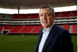 Jorge Vergara, propietario del club Guadalajara. Foto: Agencia Reforma