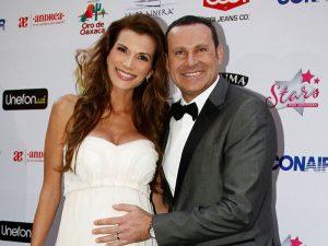 Alan Tacher y su esposa Cristina Bernal esperan la llegada de su hija Michelle. Foto: Mixed Voces