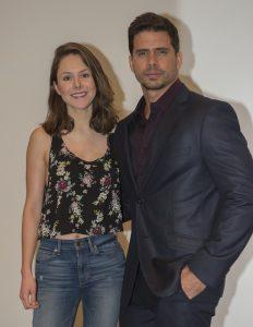 Alejandra García (Laura) y Pedro Moreno (Raúl). Foto: Cortesía de Televisa