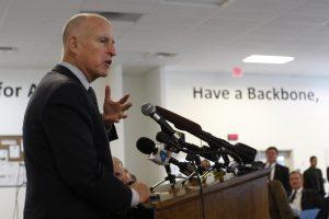 Jerry Brown Jr., gobernador de California. Foto: AP