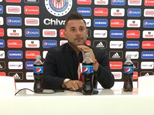 Antonio Mohamed, director técnico de Rayados de Monterrey. Foto: Notimex