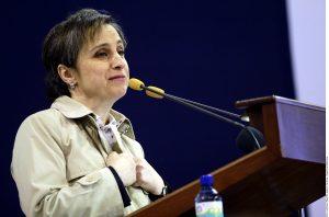 El contrato de Carmen Aristegui con MVS fue rescindido después de que colaboradores de su equipo decidieron sumarse a la plataforma MexicoLeaks. Foto: Agencia Reforma